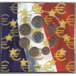 FRANCE - COFFRET EURO BRILLANT UNIVERSEL 2004 - 8 PIECES