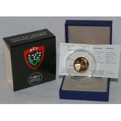 RUGBY CLUB TOULON - 50 EURO 2012 - OR - BELLE EPREUVE