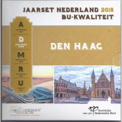NETHERLANDS - 3.88€ MINTSET 2018 - UNC in slipcase - 8 coins