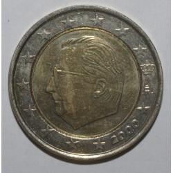 BELGIQUE - 2 EURO 2000 - FDC