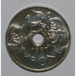 NORVEGE - KM 462 - 1 KRONE 1997 - FDC