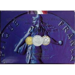 FRANKREICH - 10 MUNZEN 2000 (FRANKEN) VIELFALT LEDGE - ST