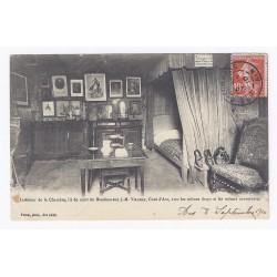 01480 - ARS - INTÉRIEUR DE LA CHAMBRE, LIT DE MORT DU BIENHEUREUX J.-M. VIANNEY, CURÉ