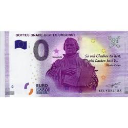 ALLEMAGNE - BILLET DE 0 EURO SOUVENIR - MARTIN LUTHER - 2017 - NEUF