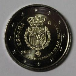 ESPAGNE - 2 EURO 2018 - 50ème Anniversaire du Roi Felipe VI - SUP / FDC