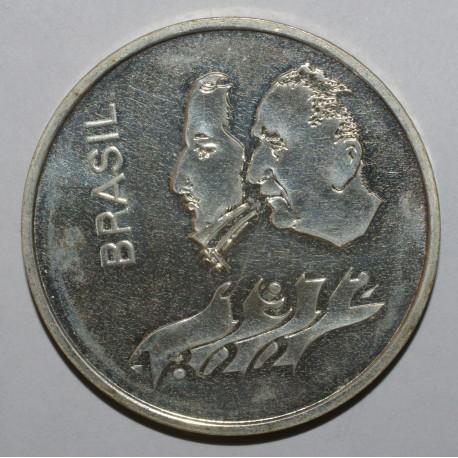 BRÉSIL - KM583 - 20 CRUZEIROS 1972 - 150ème Anniversaire de l'Indépendance - BELLE EPREUVE
