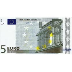 FRANCE - ADVERTISING TICKET OF 5 EURO - WITT INTERNATIONAL