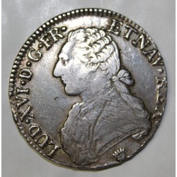 FRANCE - KM 564.7 - LOUIS XVI - ECU WITH OLIVIE BRANCHES - 1784 - I LIMOGES