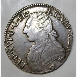 Gad 356 - LOUIS XVI - ECU AUX BRANCHES D'OLIVIER - 1784 I LIMOGES