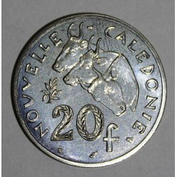 NEW CALEDONIA - KM 12 - 20 FRANCS 1996
