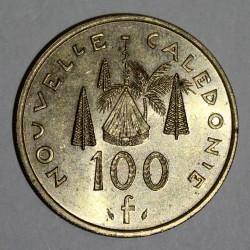NOUVELLE CALEDONIE - KM 15 - 100 FRANCS 1984 - TTB