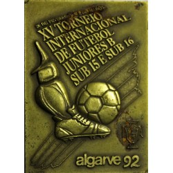PORTUGAL - MEDAILLE - FOOTBALL - ALGARVE 92
