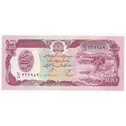 AFGHANISTAN - PICK 58 b - 100 AFGHANIS - SH 1369 (1990)