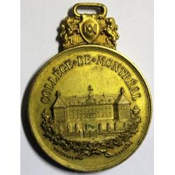 1767-1885 - COLLEGE DE MONTREAL - BRONZE DORE - LEROUX 1220