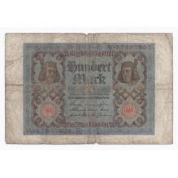ALLEMAGNE - PICK 69 - 100 MARK - 01/11/1920 - ASSEZ BEAU