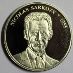 MEDAILLE - NICOLAS SARKOZY - 1955