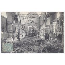 02500 - HIRSON - L' église - Après l'incendie du 9 janvier 1906 - L'intérieur