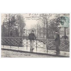 """02500 - HIRSON - Vue sur le Gland et usine """"La Parisienne"""""""