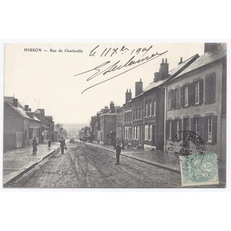 02500 - HIRSON - Rue de Charleville