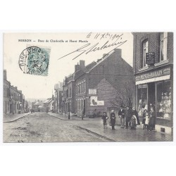 02500 - HIRSON - Rues de Charleville et Henri Martin