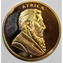 AFRIQUE DU SUD - MEDAILLE DU 40EME ANNIVERSAIRE - 1 ONCE - GAZELLE