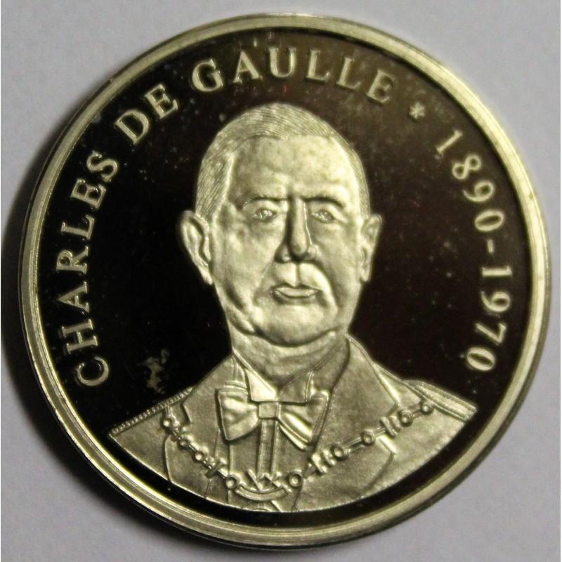 détails pour fréquent Style magnifique MEDAILLE - LES PRESIDENTS FRANCAIS - CHARLES DE GAULLE - 1890-1970