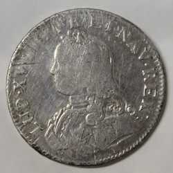 FRANCE - KM 486.15 - LOUIS XV - ECU WITH OLIVE BRANCHES - 1726 O - RIOM
