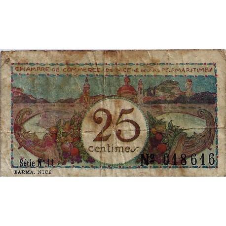 06 nice chambres de commerce 25 centimes 1918 - Chambre des commerces nice ...