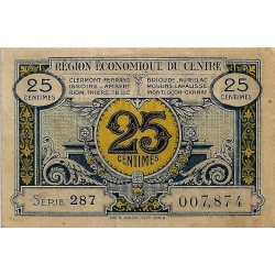 60 - BEAUVAIS - CHAMBER OF COMMERCE OF BEAUVAIS AND OISE - 50 CENTIMES 1920