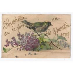 02100 - SAINT QUENTIN - SOUVENIR DE LA FOIRE 1909