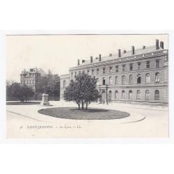 County 02100 - SAINT QUENTIN - THE HIGH SCHOOL