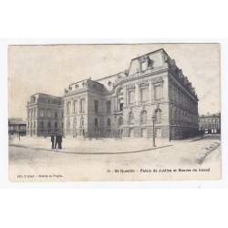02100 - SAINT QUENTIN - PALAIS DE JUSTICE ET BOURSE DU TRAVAIL