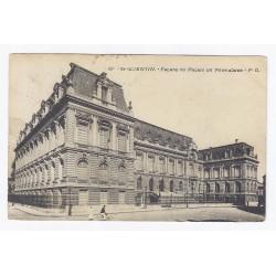 02100 - SAINT QUENTIN - FACADE DU PALAIS DE FERVAQUES