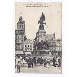 02100 - SAINT QUENTIN - AVANT GUERRE - LE MONUMENT DE 1557