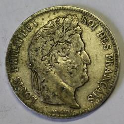 FRANCE - KM 749 - 5 FRANCS 1838 B Rouen TYPE LOUIS PHILIPPE 1er