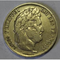 GADOURY 678 - 5 FRANCS 1842 BB Strasbourg TYPE LOUIS PHILIPPE 1er - KM 749