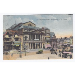 02100 - SAINT QUENTIN - APRÈS GUERRE - LE THÉÂTRE