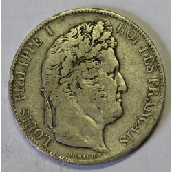 GADOURY 678a - 5 FRANCS 1844 A Paris TYPE LOUIS PHILIPPE 1er - KM 749