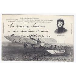 Komitat 02130 - COULONGES - AUTOGRAMM VON AVIATOR ALFRED GUILLAND 1914