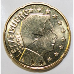 LUXEMBOURG - 20 CENT 2002 - GRAND DUC HENRI