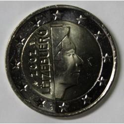 LUXEMBOURG - 2 EURO 2002 - GRAND DUC HENRI