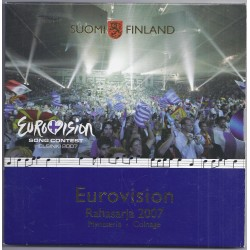 FINLANDE - COFFRET EURO BRILLANT UNIVERSEL CLASSIQUE 2007 - 8 PIECES - OCCASION