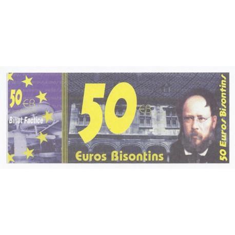 25 - BESANCON - 50 EUROS BISONTINS - NEUF
