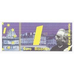 25 - BESANCON - 1 EURO BISONTIN - NEUF