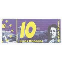 25 - BESANCON - 10 EUROS BISONTINS - NEUF
