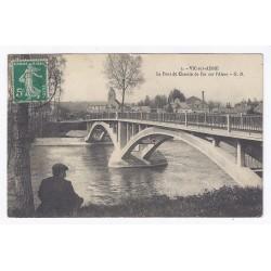 County 02290 - VIC SUR AISNE - THE BRIDGE OF THE RAILROAD ON THE AISNE RIVER
