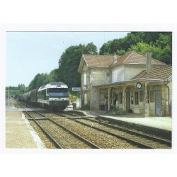 County 02210 - VIERZY - THE TRAIN STATION - FREIGHT TRAIN