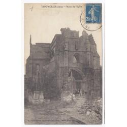 02410 - SAINT GOBAIN - RUINES DE L'ÉGLISE