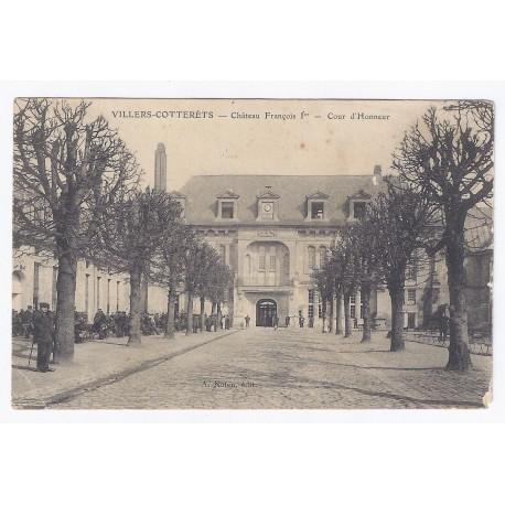 02600 - VILLERS COTTERÊTS - LE CHÂTEAU DE FRANÇOIS 1er - LA COUR D'HONNEUR