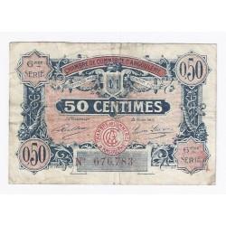 16 ANGOULEME - CHAMBRE DE COMMERCE - 50 CENTIMES - 14/01/1925 - TTB